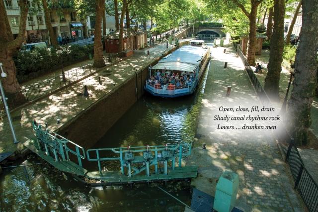 Canal St Martin haiku