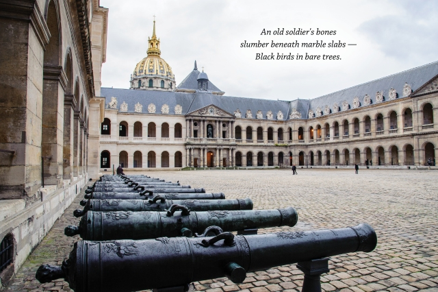 Haiku Les Invalides