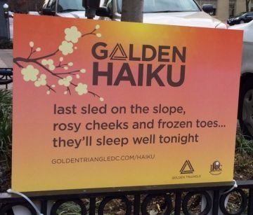 Golden Triangle haiku photo